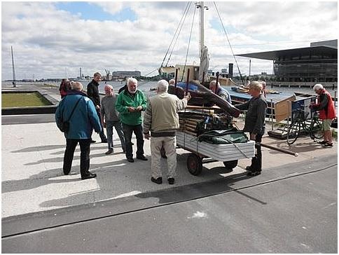 Fredag formiddag  Øvrigt materiel skal transporteres over til Travaljelaugets bod