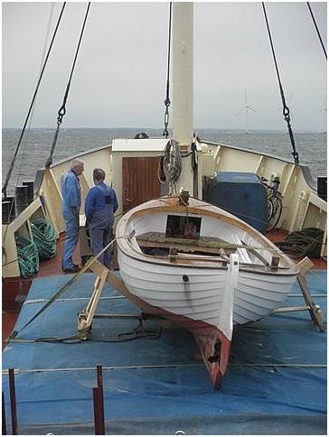 Et par gæve sømænd - på vej mod Nyhavn