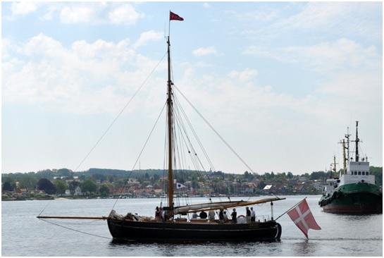 Viking - også fyldt med søfolk – tog kursen øst om Tåsinge